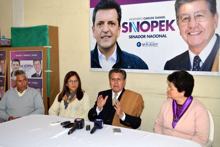 """Carlos Daniel Snopek: """"Vamos a pelear en el Congreso de la Nación para que se revierta el esquema centralista que hoy existe en la Argentina"""""""